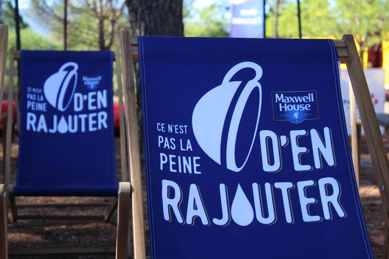 La RFE met en place une opération de Trip Marketing pour Maxwell en proposant des espaces détente sur les aires d'autoroutes Vinci